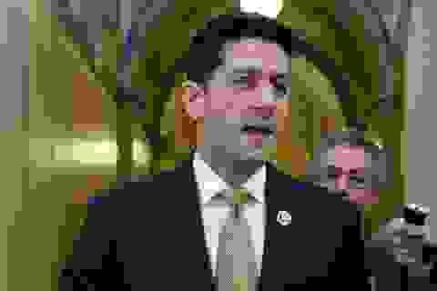 Nghị sĩ Paul Ryan được đề cử làm Chủ tịch Hạ viện Mỹ