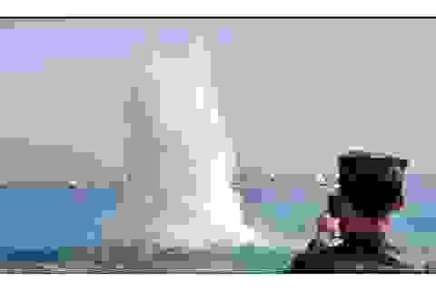 Hàn Quốc tập trận bắn đạn thật trên biển tiếp giáp Triều Tiên