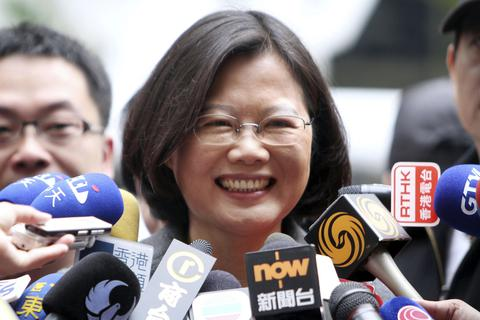 Mỹ-Nhật chúc mừng bà Thái Anh Văn đắc cử lãnh đạo Đài Loan