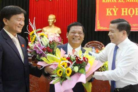 Bổ nhiệm mới Chủ tịch UBND, HĐND tỉnh Quảng Ngãi
