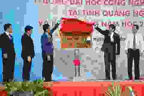Thành lập và khai giảng phân hiệu trường ĐH Công nghiệp TPHCM tại Quảng Ngãi