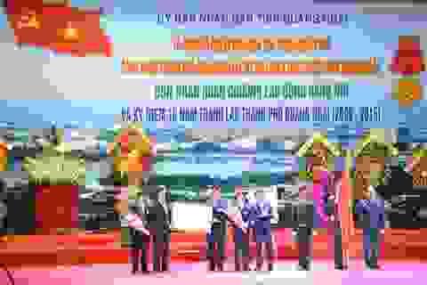 Quảng Ngãi đón nhận Huân chương Lao động hạng Nhì và công bố đô thị loại II