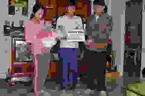 Hơn 47 triệu đồng đến với bé 11 tháng tuổi bị bỏng nặng