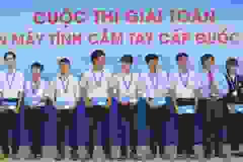 17 giải Nhất tại cuộc thi Giải toán trên máy tính cầm tay quốc gia