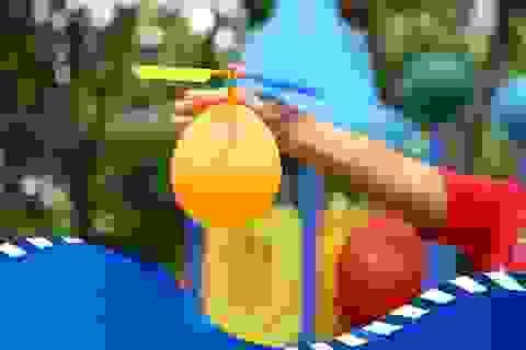 Trực thăng bong bóng – Trò chơi gây bão mùa hè