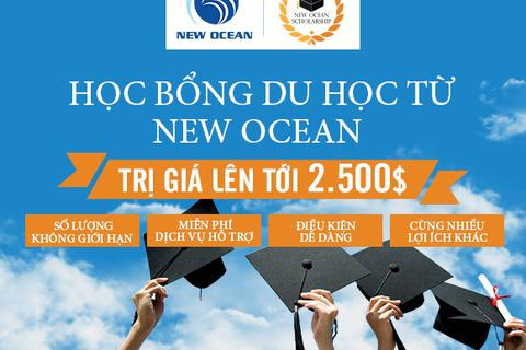 Nhận học bổng không giới hạn cùng New Ocean Scholarship