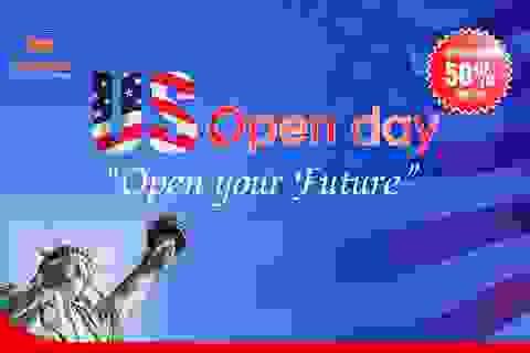 US OPEN DAY – Chìa khóa tương lai trong tầm tay