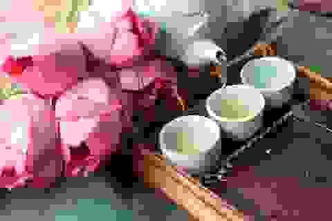 Thú thưởng trà xưa - nay của người Việt