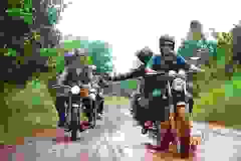 Nghệ thuật chăm xe khi đi phượt của biker Việt