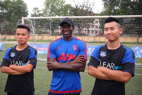 Sao Manchester United đến Việt Nam tranh tài