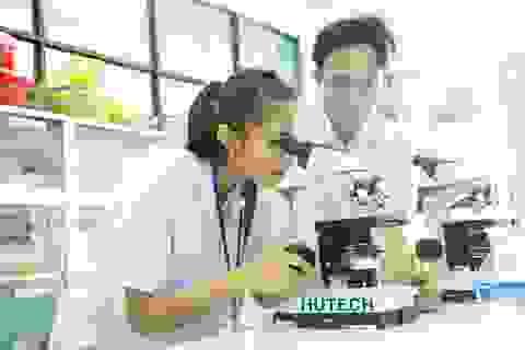Thực hiện ước mơ Dược sĩ tại Hutech