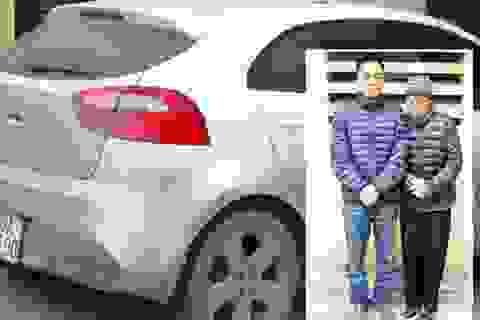 3 mẹ con mang ôtô đi trộm cắp
