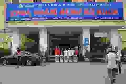 Người bệnh được uống nước sạch miễn phí tại bệnh viện Đa khoa Trung ương Thái Nguyên