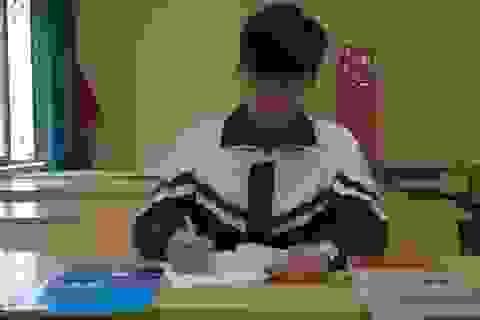 Đàm Trí Tuệ với giải Nhì học sinh giỏi quốc gia