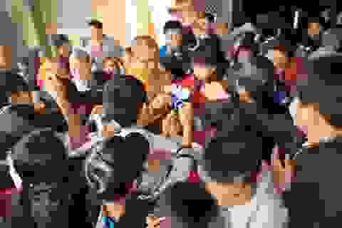 Nghi lễ đề cao sự học ở chùa Đại Tuệ