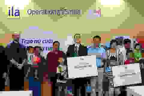 ILA trao tặng 270 triệu đồng cho tổ chức Operation Smile