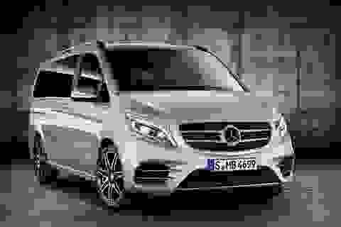 Mercedes-Benz trang bị gói nâng cấp AMG cho V-class