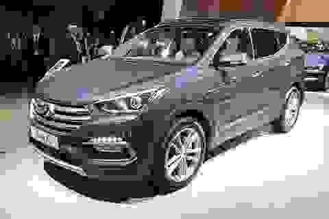 Tại châu Âu, Hyundai SantaFe mới có ba lựa chọn động cơ