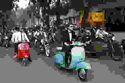"""Distinguished Gentleman's Ride - Cuộc diễu hành củng cố """"bản lĩnh đàn ông"""""""