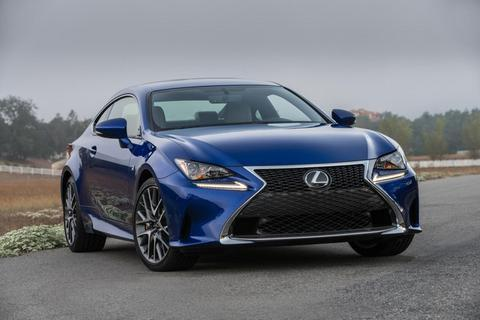 Lexus RC có thêm lựa chọn động cơ nhỏ