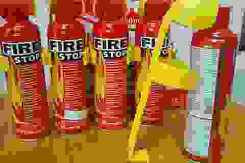 Bình chữa cháy trong ôtô: Đặt đâu để không bị nổ?
