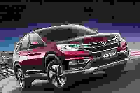 Honda chuẩn bị đưa phiên bản mới CR-V về Việt Nam
