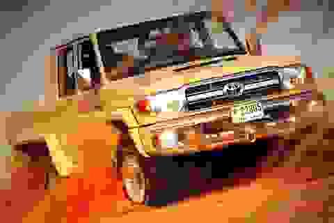 """Mục sở thị"" Toyota Land Cruiser 6×6"