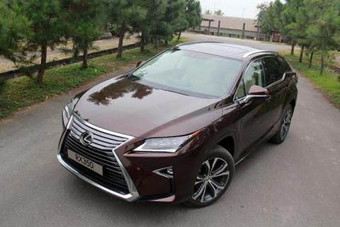 Lexus triệu hồi mẫu crossover RX tại Việt Nam