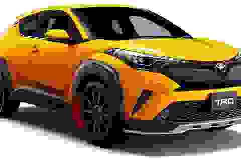 Vừa ra mắt, Toyota C-HR đã sẵn sàng với bộ cánh TRD