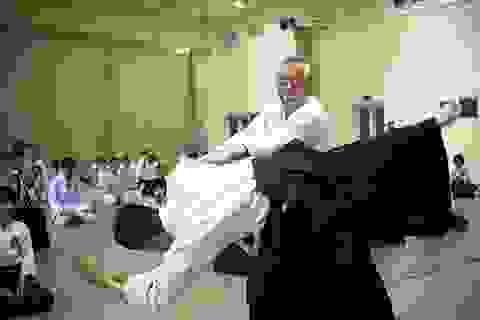 Đại sư 8 đẳng Aikido tham dự khóa tập huấn tại Hà Nội