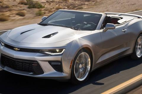 Chevrolet Camaro Convertible 2016 lộ dáng