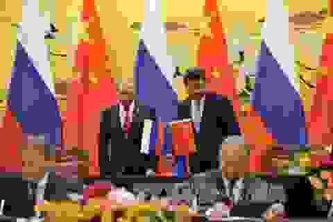 """Quan hệ Nga - Trung: Thực tại không """"đẹp"""" như cam kết"""