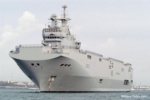 Báo Nga: Trung Quốc có thể thuê lại tàu chiến Mistral của Ai Cập