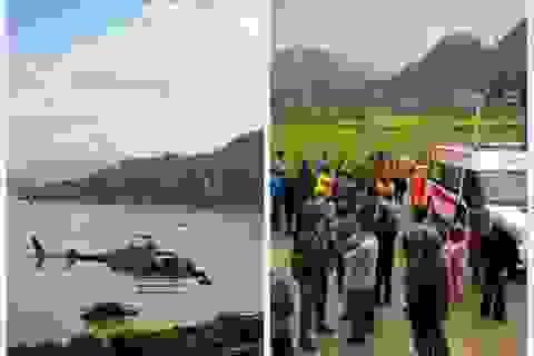 Rơi trực thăng tại Trung Quốc, 4 người chết