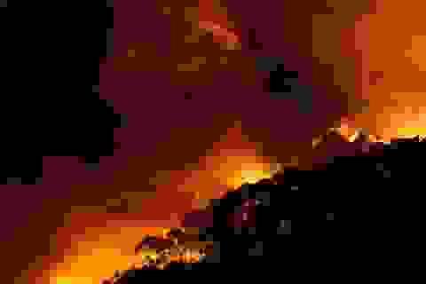 Úc: Cháy rừng thiêu rụi hơn 100 căn nhà đúng ngày Giáng sinh