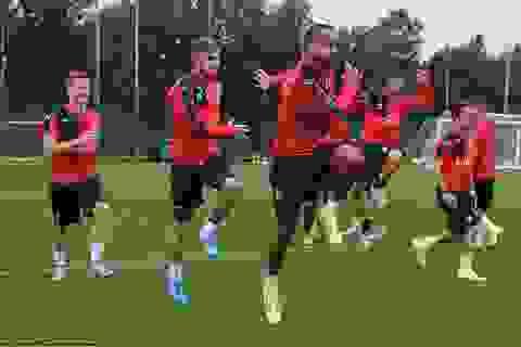 Arsenal sẵn sàng chinh phục Emirates Cup