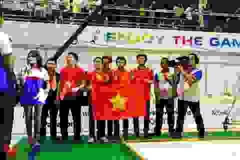 ABU Robocon 2015: Toàn cảnh chiến thắng của đội tuyển Việt Nam