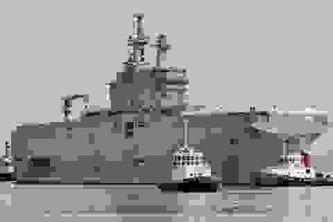 Ai Cập chính thức ký hợp đồng mua tàu chiến Mistral của Pháp