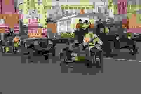 Nga tái hiện cuộc diễu binh lịch sử năm 1941 trên Quảng trường Đỏ