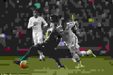 Crystal Palace 0-0 Man Utd: Nhạt nhòa
