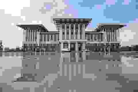Dinh thự lớn hơn Nhà Trắng của Tổng thống Thổ Nhĩ Kỳ
