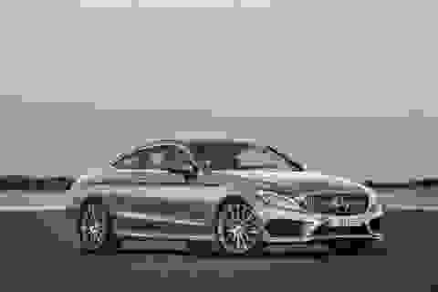 Mercedes C-Class Coupe trở thành S-Class thu nhỏ