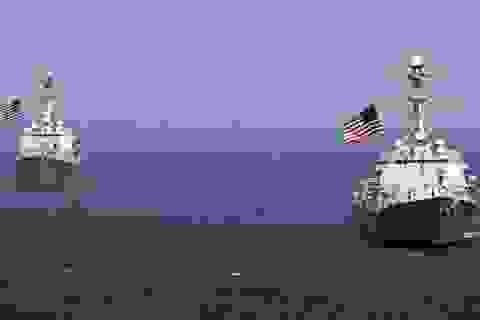 Mỹ tuyên bố sẽ tuần tra Biển Đông định kỳ 2 lần mỗi quý