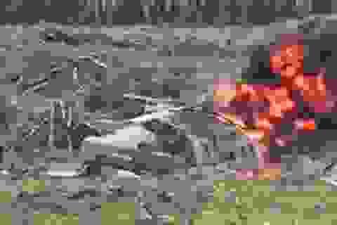 Trực thăng Mi-28 của Nga rơi khi trình diễn, phi công thiệt mạng