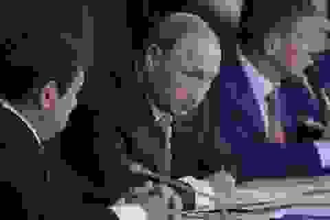 Ukraine trao công hàm phản đối Tổng thống Nga thăm Crimea