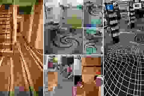 Những mẫu thiết kế sàn nhà đẹp như tranh vẽ