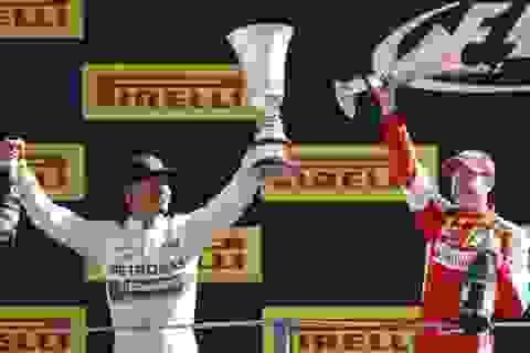 Chặng 12 F1 2015: Chiến thắng hồi hộp của Hamilton