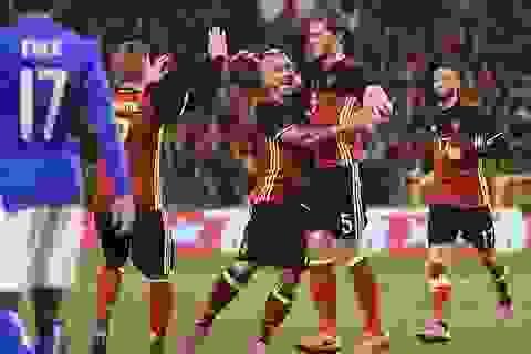 Bỉ ngược dòng hạ gục Italia