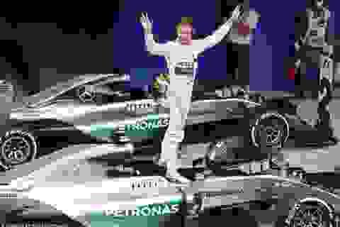 Chặng 18 F1 2015: Chiến thắng nhẹ nhàng của Nico Rosberg