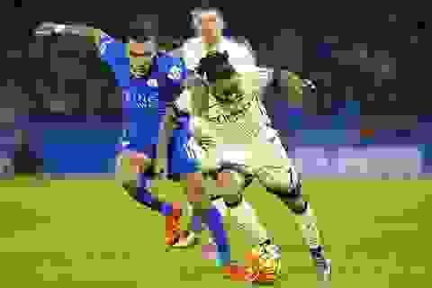 Leicester City chia điểm cùng Man City
